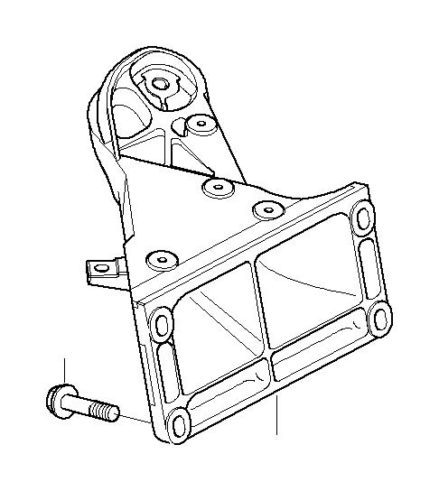 BMW Z4 Heat resistance plate engine support. Insulation