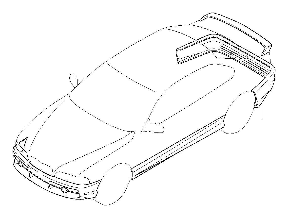 Bmw 750i Front Spoiler Alpina Trim