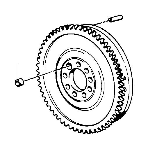 BMW 335xi Twin Mass Flywheel. Engine, Drive, Crankshaft