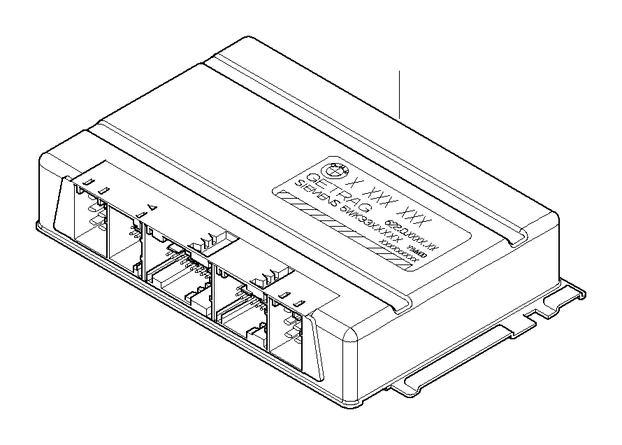 BMW M5 Exch. Programmed SMG control unit. MK III