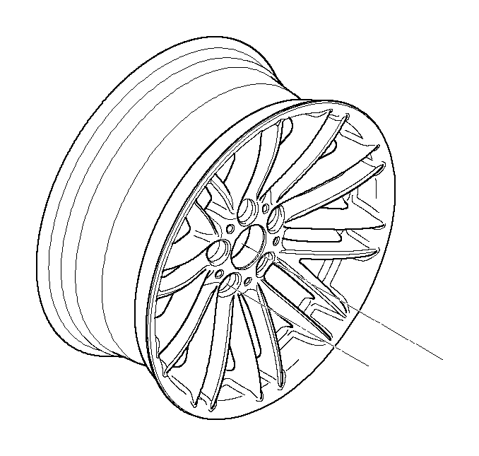 BMW 745i Light alloy rim. 8JX18 ET:24. Wheels, Wheel