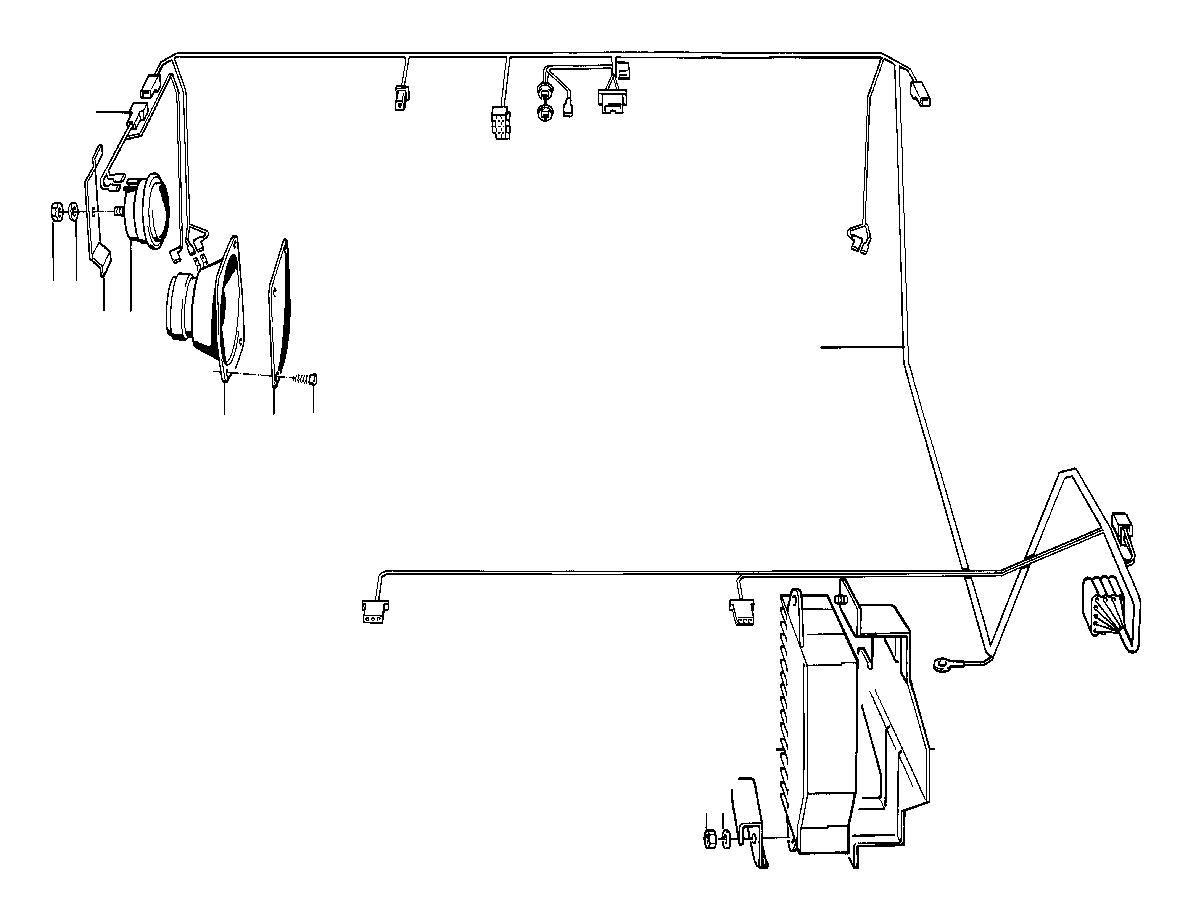 Bmw 528e Cover Loudspeaker Anthrazit System Single