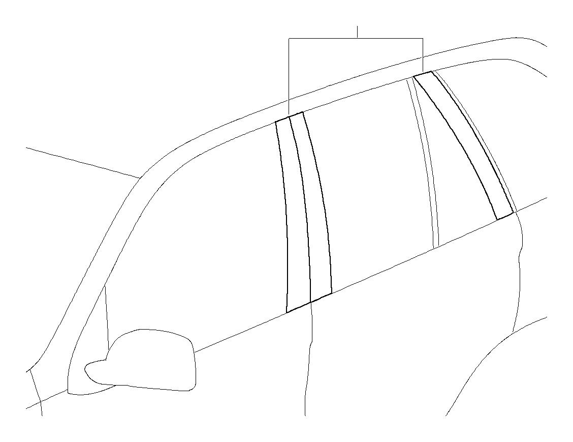 Bmw X6 Pillars Carb Fiber E71 Trim