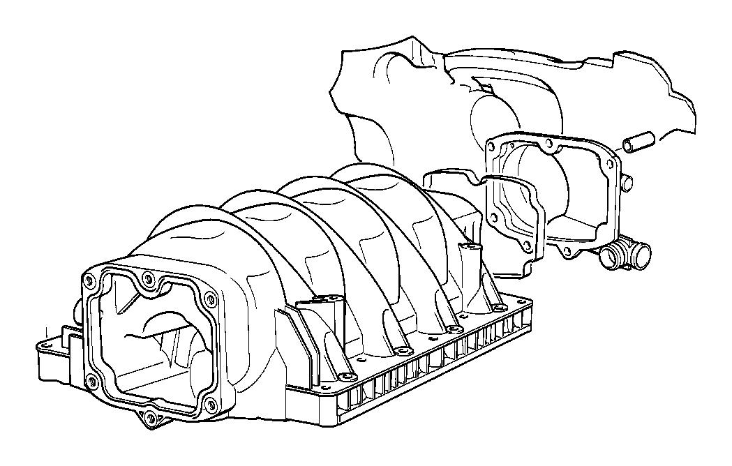 BMW 740i Intake manifold. System, Engine, ALPINA