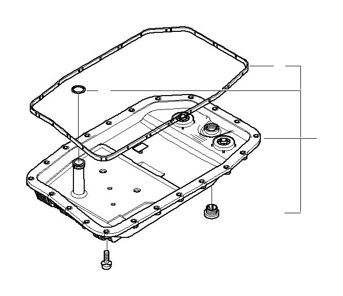 BMW 750iX Torx screw. M6X28, 5. ALPINA, Oil, Sump