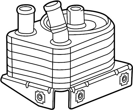 BMW M3 Engine-oil cooler. Radiator, Line, Cooling