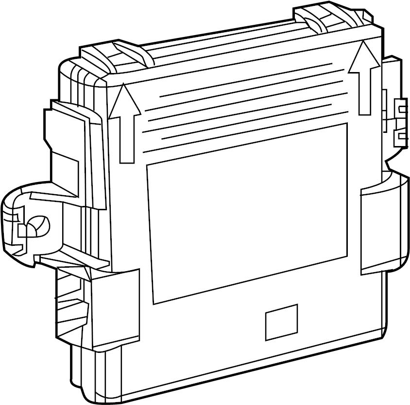 2018 BMW 330e Radio remote control receiver. 434 MHZ. Rex