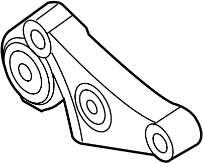 BMW 323i Gearbox supporting bracket. Suspension