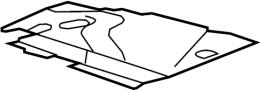 BMW 750i Set, cover caps, headlight, left. ALPINA