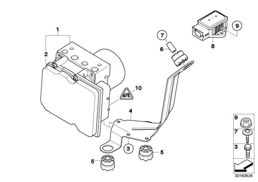 BMW X5 Speed sensor. Steering, Hydraulic, Suspension