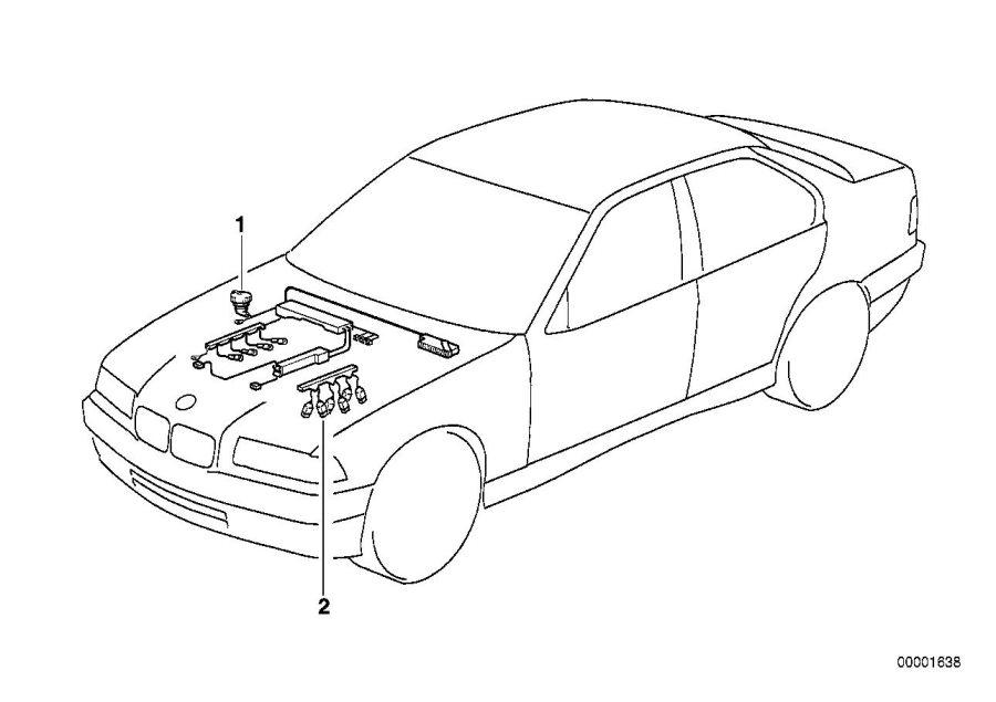 BMW X3 Relay, make contact, sky-blue. Rex, DME, System