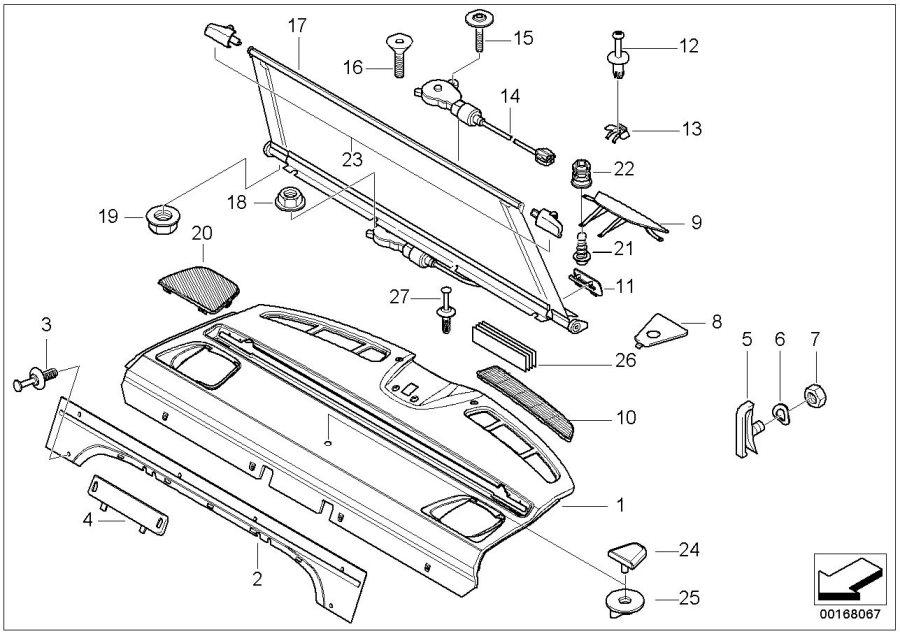 1998 bmw 528i parts diagram