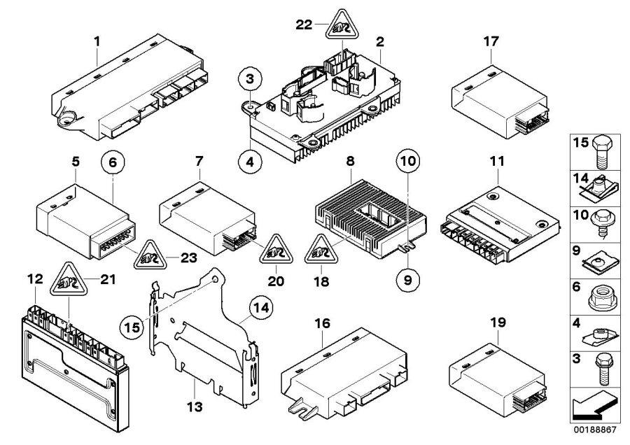 2006 Bmw 550i Front Parts Diagram. Bmw. Auto Wiring Diagram