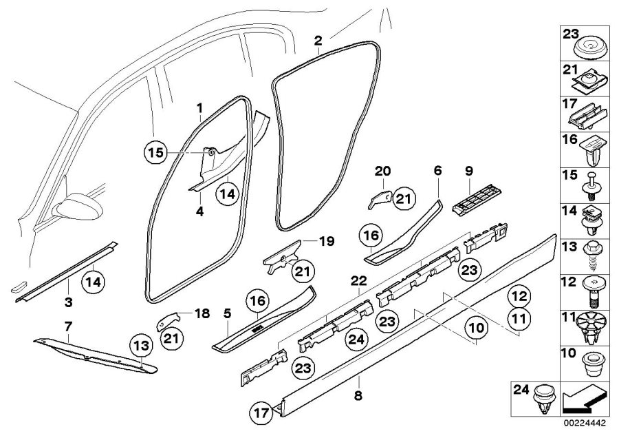 2006 Bmw 325i Interior Parts Diagram. Bmw. Auto Wiring Diagram