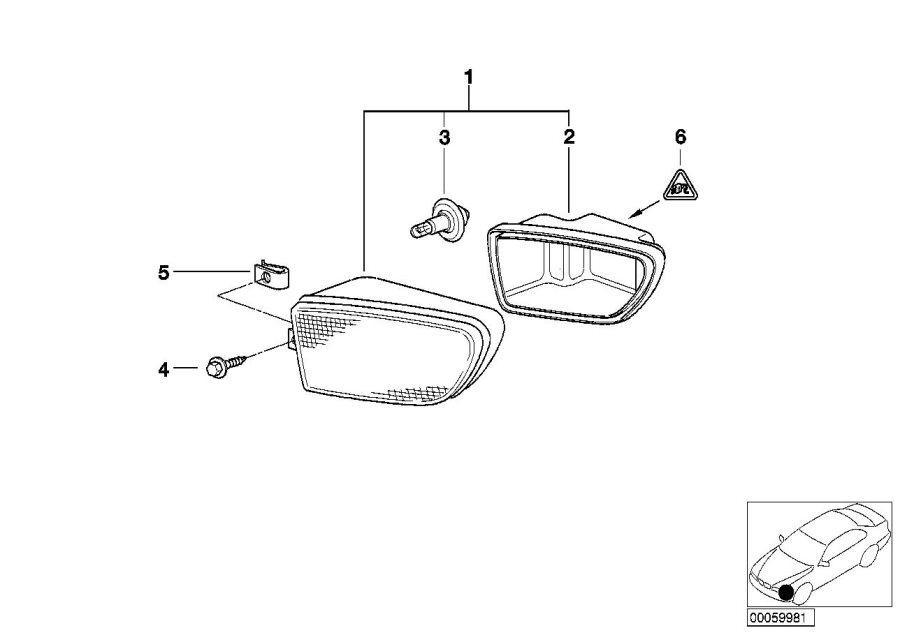 1999 BMW 528i Wagon Bulb. H7/55w. Yes, headlight, bulbs