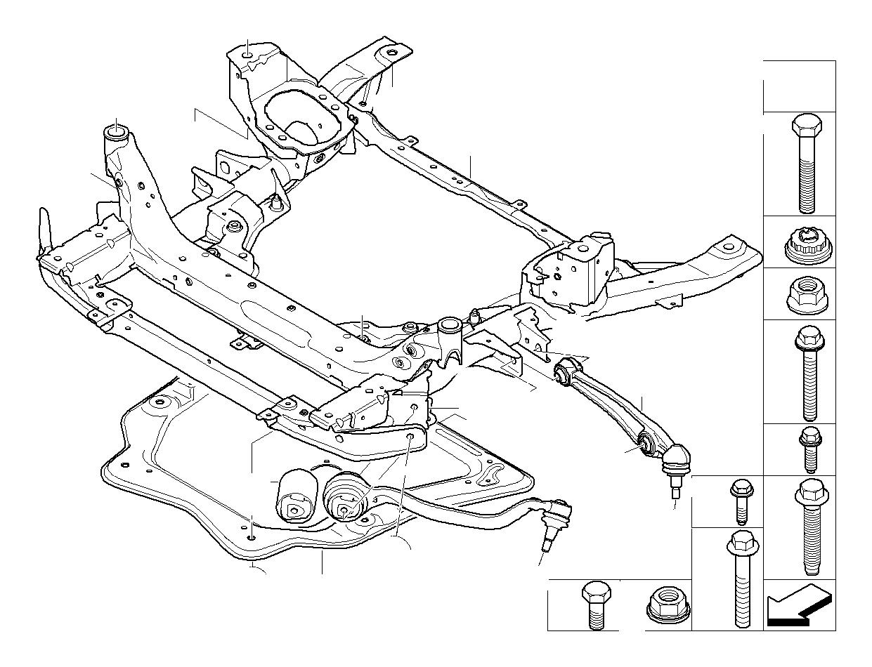 Bmw X5 Stiffening Plate Suspension Axle