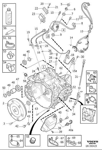 2002 Volvo V70 XC Automatic Transmission. AUTOMATIC