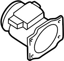 Nissan Frontier Mass Air Flow Sensor. COMPONENT, CLEANER