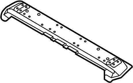 Nissan Murano Floor Support (Rear). Trim, PANEL, Interior