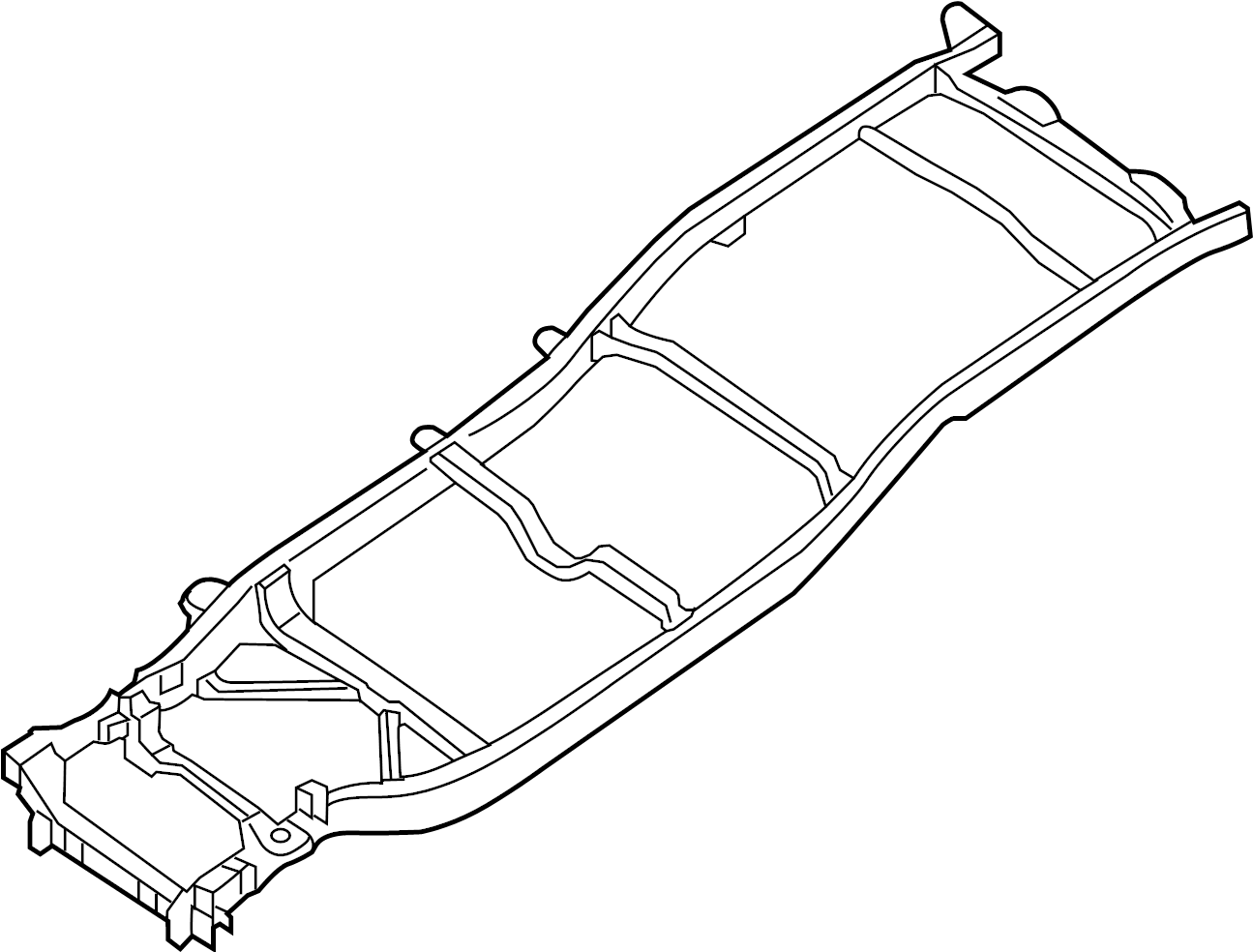 Nissan Frontier Frame Rail Bed Under Cover
