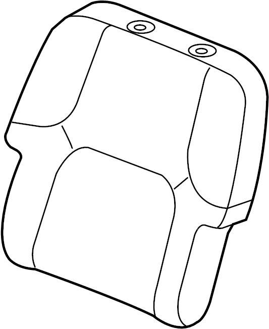 Nissan Pathfinder Seat Back (Front). AIRBAGS, SIDE