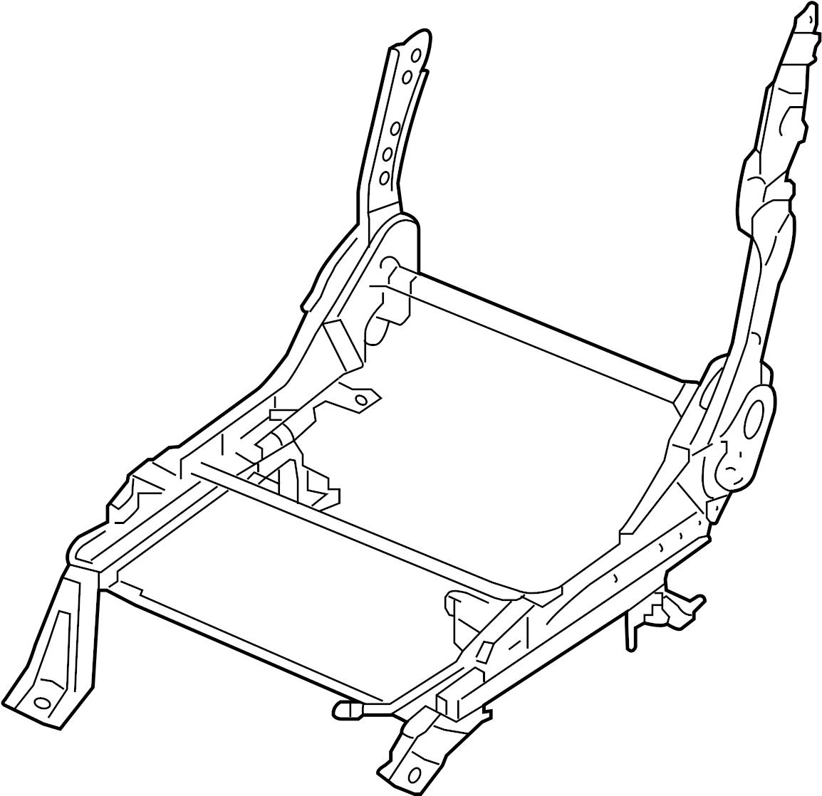 Nissan Pathfinder Seat Track Adjust Mechanism (Right