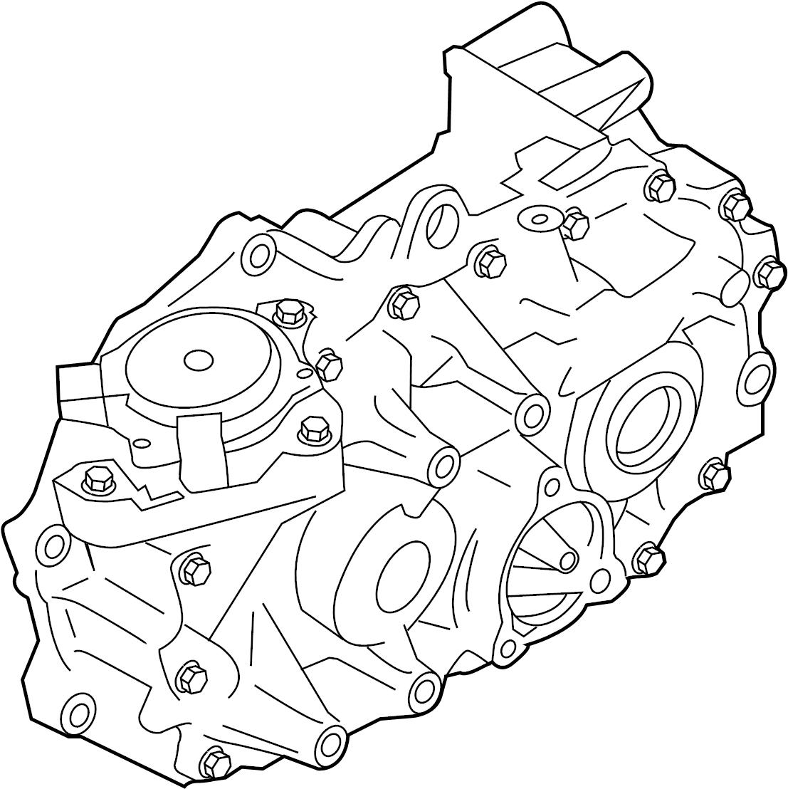 Nissan Leaf Automatic Transmission. GEAR, REDUCTION