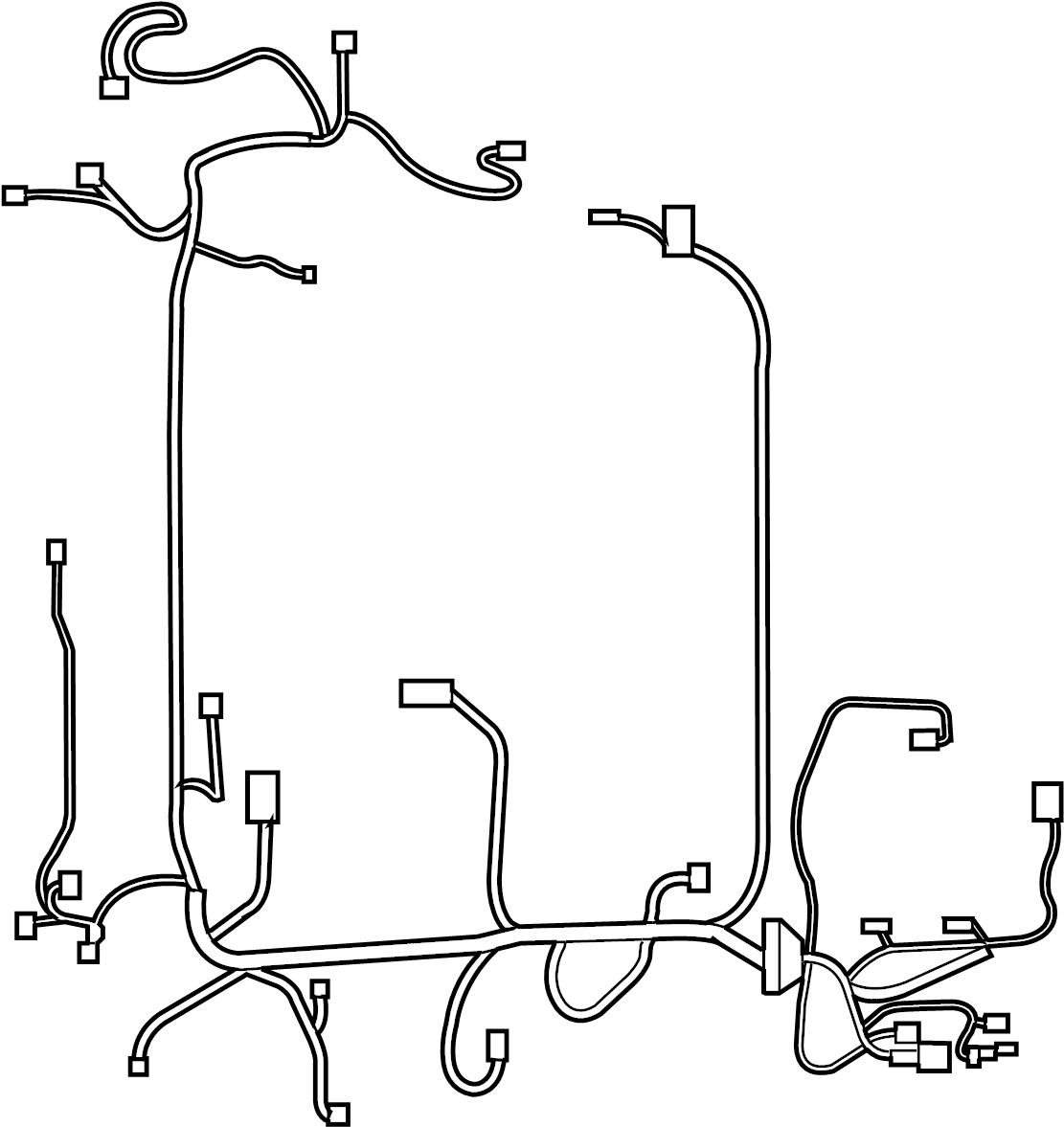Nissan Sentra Engine Wiring Harness. BODY, CVT, ROOM