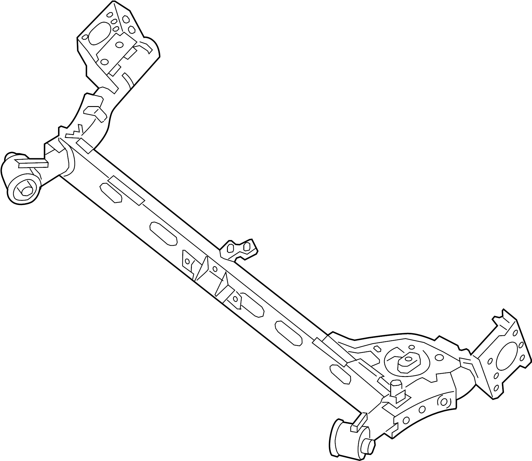 Nissan Sentra Suspension Subframe Rear