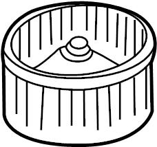 Nissan Pulsar NX Impeller Fan. (Lower). UNIT, COOLING