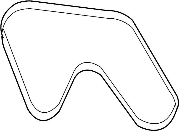 Nissan 350Z Serpentine Belt. COMPRESSOR, POWER, FAN