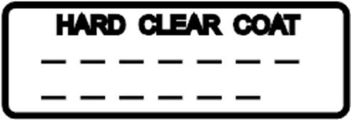 Nissan 370Z Engine Sticker. Label Caution, Paint Repair
