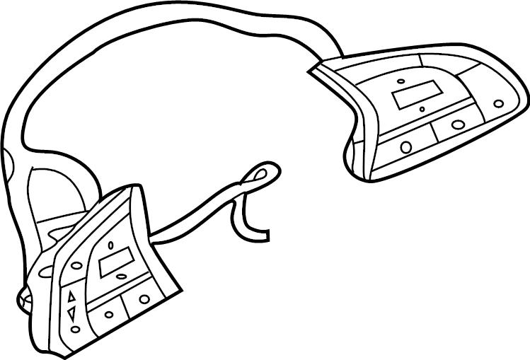 Nissan Sentra Steering Wheel Wiring Harness. SWITCH, WAG