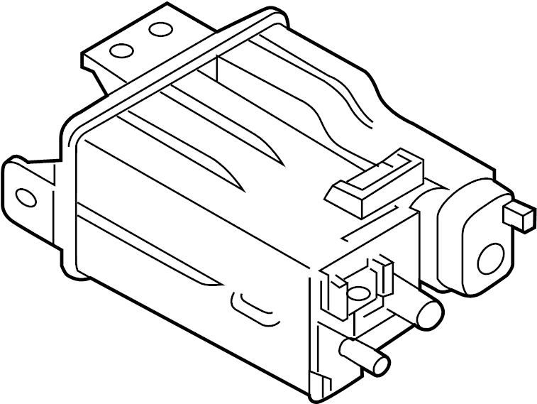 Nissan Murano Bracket Evaporation Filter. CANISTER