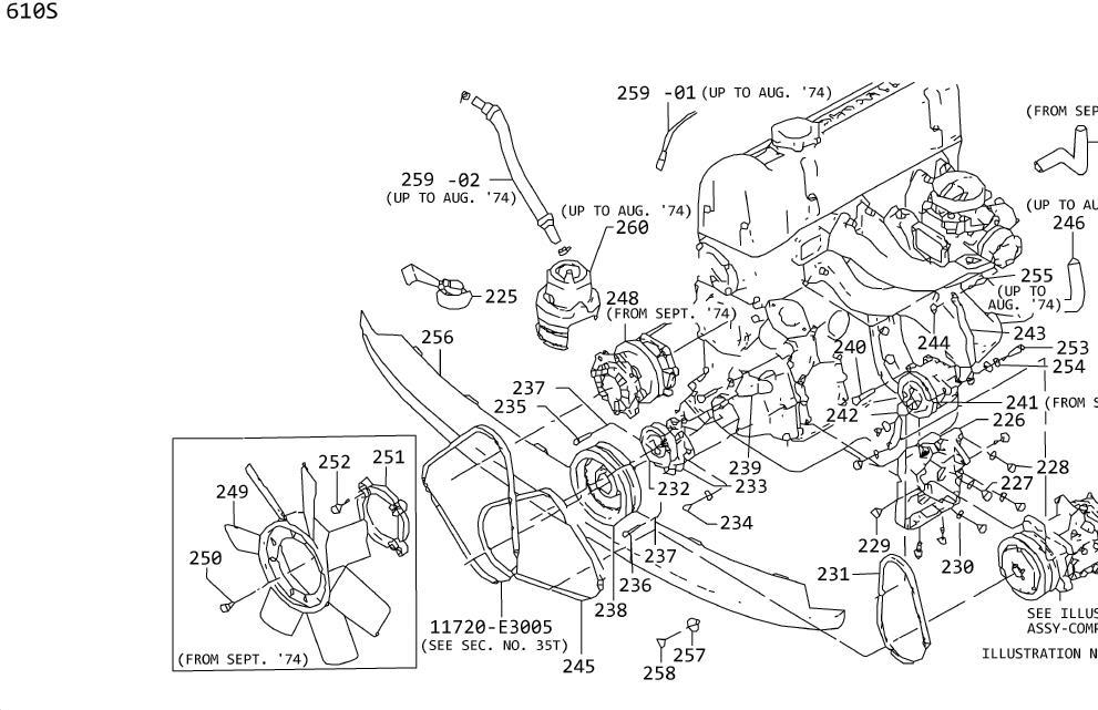 Nissan 720 Bracket Instant L/Cover. Bracket Instrument L