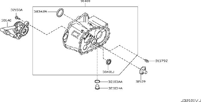 Nissan Juke Manual Transmission Input Shaft Seal. CLUTCH