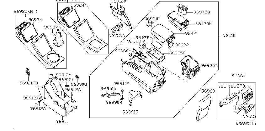 Nissan Altima Manual Transmission Shift Linkage Boot. TRIM