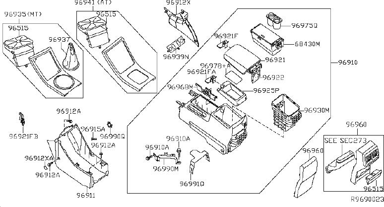 Nissan Altima Manual Transmission Shift Linkage Boot