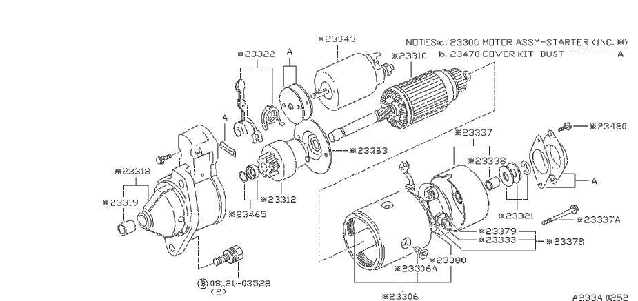 Nissan Pathfinder Bolt THROUGH. Bolt THRU. Switch