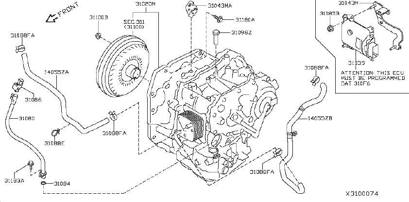 Nissan Versa Automatic Transaxle. Automatic Transmission