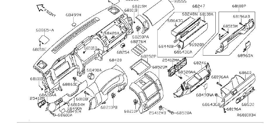[DIAGRAM] 2004 Nissan Xterra 3300 Fuse Box Diagram FULL