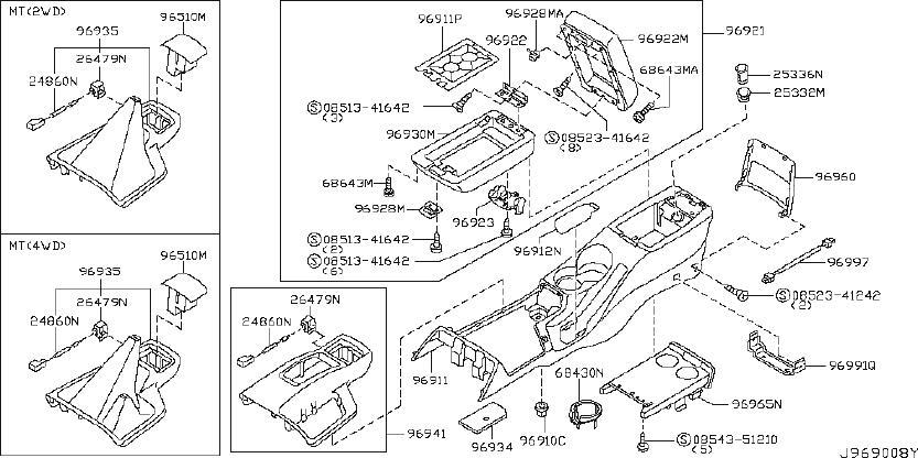 Nissan Pathfinder Automatic Transmission Shift Indicator