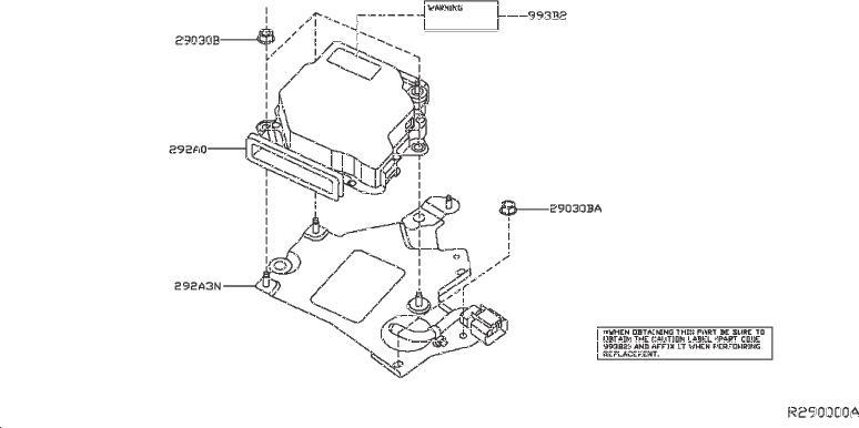 Nissan Pathfinder Hybrid Voltage Converter. SYSTEM