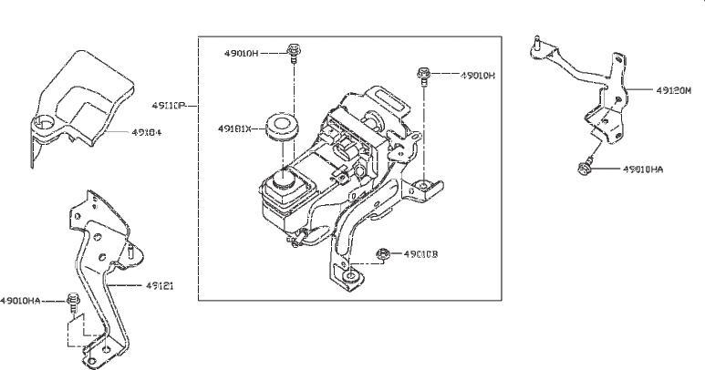 Nissan Pathfinder Pump Electric Power Steering. Suspension