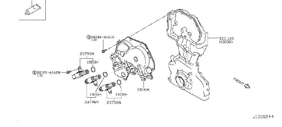Nissan Rogue Engine Intake Valve. CAMSHAFT, SELECT