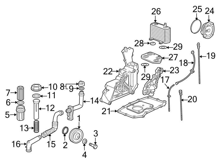 Porsche Boxster Filter. Oil. Engine. Housing. Hsng. AS
