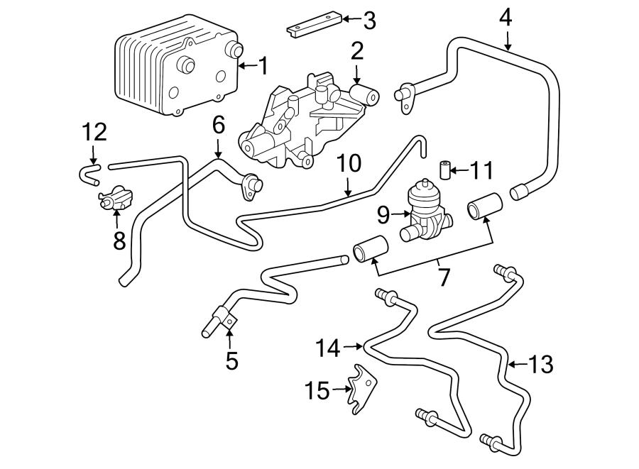 2004 Porsche Boxster Vacuum Hose. 2005-08. 2012-16, MANUAL