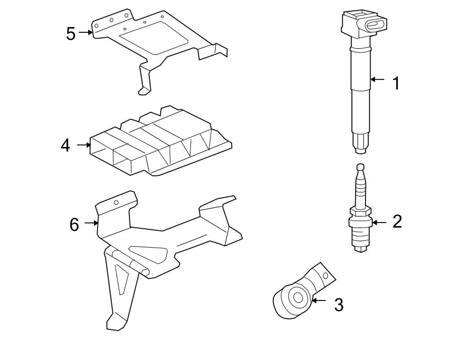 Porsche Cayenne Engine Control Module. 2008-10, 4.8L