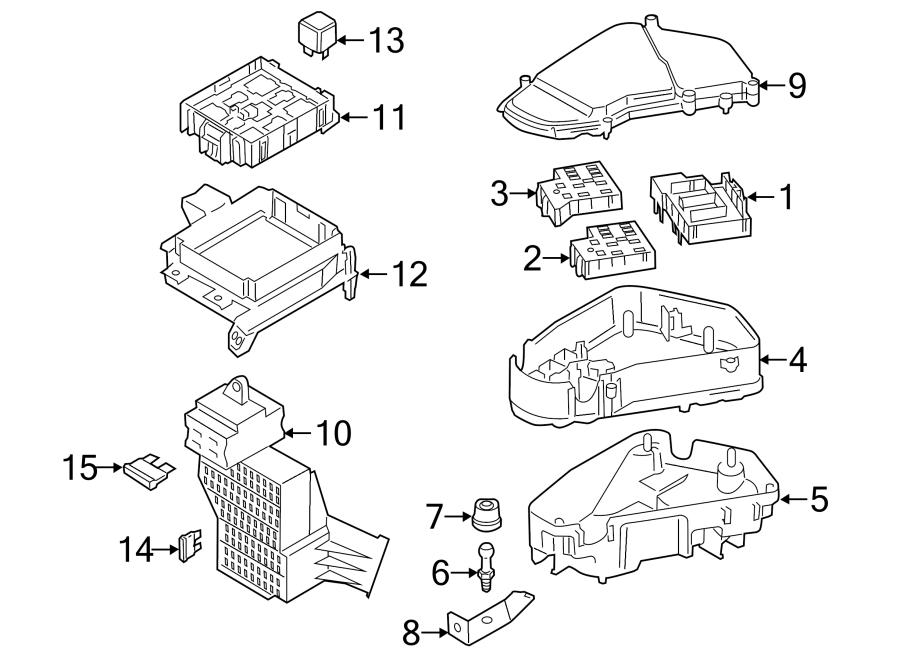 Porsche Cayenne Accessory Power Relay. Code S7/6. SL1. Amp