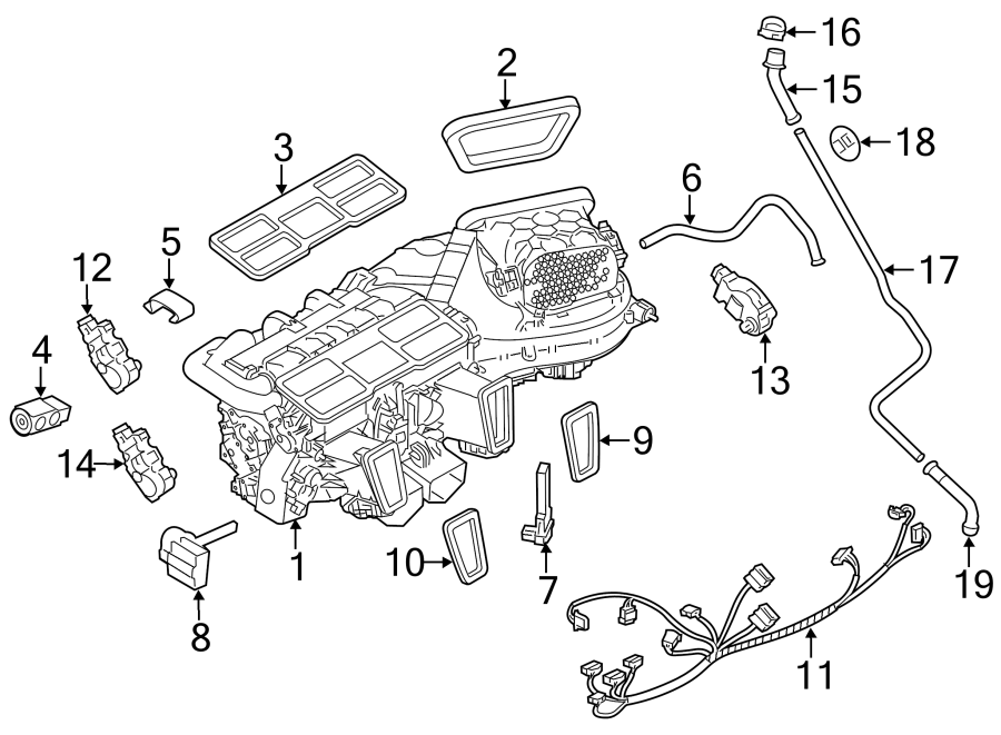 Porsche Panamera Air conditioning (a/c) expansion valve